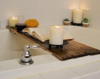 Bathtub Tray Bathing Board for storing items during bath time