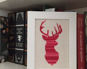 Cross Stitch-Deer (ready for shipment!)