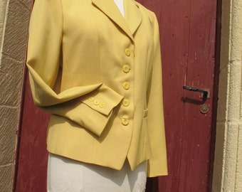 Cacharel Butter Yellow Jacket