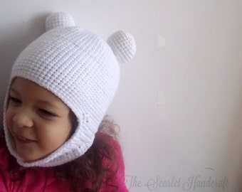 Adventure Time Finn The Human Inspired Crochet Beanie Hat. Made to Order.