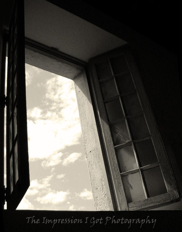 Fine art photo t l chargement num rique la fen tre ouverte for Fenetre noir et blanc