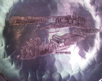 Wendell August Forge Hammered Aluminum Pittsburgh Plate