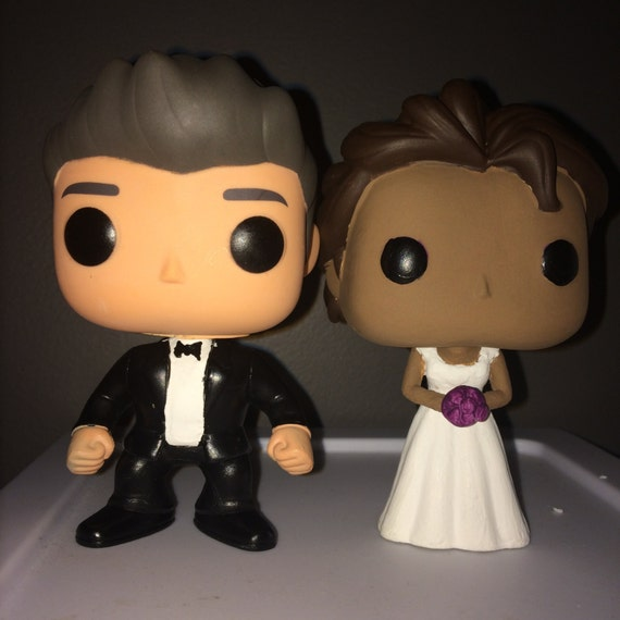 Custom Funko Pop Wedding Cake Topper By GeekTweak On Etsy