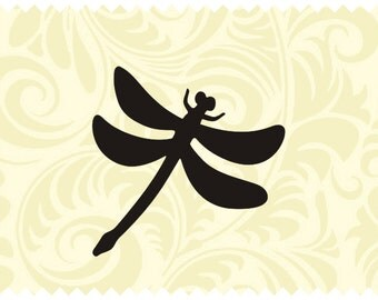 Dragonfly - SVG - PNG - JPEG - dxf - pdf - Printable Clipart - Iron on Transfer for Fabric  - Vinyl Cutting - Laser Engraving