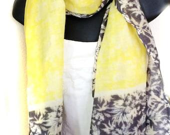 Yellow Cashmere Scarf,Pashmina scarf Yellow,Rebozo,yellow wrap,Pure wool,100% Wool Wrap,wedding gift,Unisex Scarf,Accessories