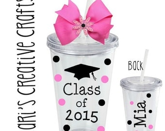 Class of 2016 Tumbler / Graduation / Graduate / High school