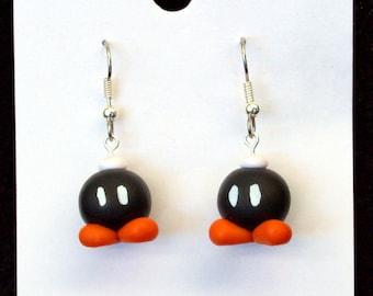 Bob-omb Earrings
