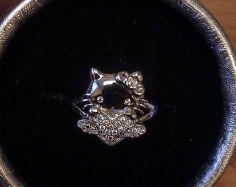 Hello Kittie Ring