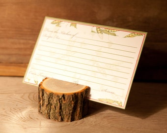 Rustic Recipe Card Holder