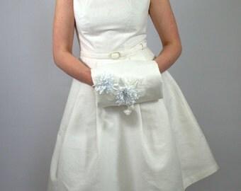 Wedding dress linen