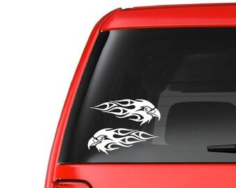 Double Eagle (A12) Vinyl Decal Sticker Car/Truck Laptop/Netbook Window