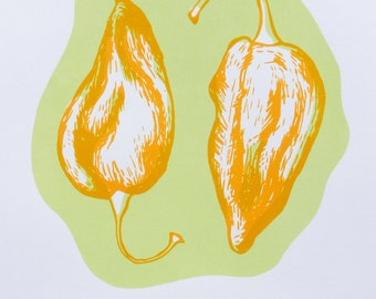 Fatali - Pepper Screenprint Series
