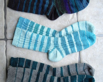 PDF Knitting Pattern: Sublimation Socks