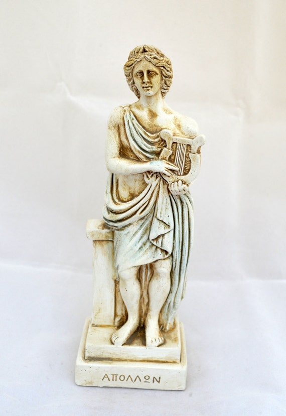 greek god apollo Greek god apollo apollo was one of the twelve gods of the olympus he is the son of zeus and leto and twin brother of artemis he is the god of music and is often portrayed with a lyre he is also the god of healing and light.