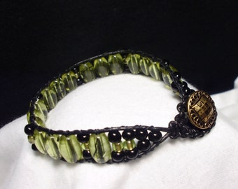 Openly Olive Bracelet