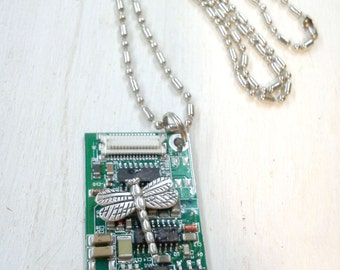 Necklace, Dog Tag on long ball chain