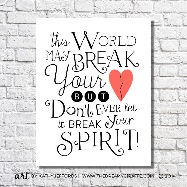 Motivational Quotes For A Broken Hearted Girl: Inspirational Quotes