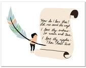 Notecard - Sonnet