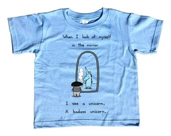 I'm a Unicorn Kids Tshirt -  Cute Funny Unicorn TShirt - Youth and Toddler Sizes