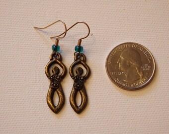 Flower Goddess Earrings