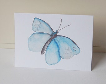 Butterfly Note Cards, Blank Note Cards Set, Blue Butterfly Cards, All Occasion Cards, Thank You Cards, Greeting Cards, Note Cards
