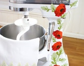 Poppies Kitchenaid Decals Red