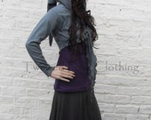 Faery Long Sleeved Hooded Tie Shrug ~ Pixie ~ Elven ~ Hood ~ Hoodie ~ Elf ~ Sizes 6 to 30 ~ Last Chance to Buy