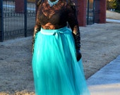 Plus Size  Tulle Tutu Skirt - ALL COLORS