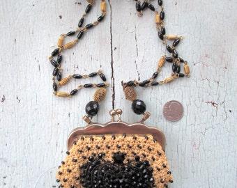 Queen Bee Necklace - Repurposed Vintage