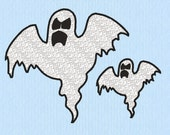 Ghost Machine Embroidery Design File in two sizes