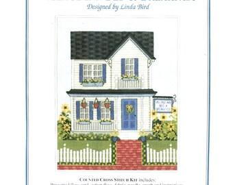 Village Inn Bed & Breakfast Counted Cross Stitch Pattern / Thread - Linda Bird - The Design Connection K7-819