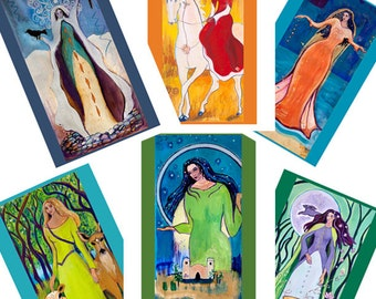 Greeting Cards - Celtic Goddesses 2