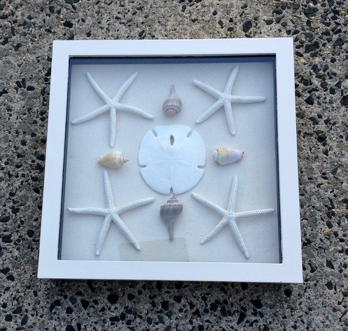 Beach Theme Home Decor Shadow Box Beach Gift