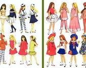 Skipper Patterns, Over 50 Outfits, Skipper Clothes Patterns, Vintage Skipper Pattern Collection on CD  # Skipper Doll Clothes, #Skipper