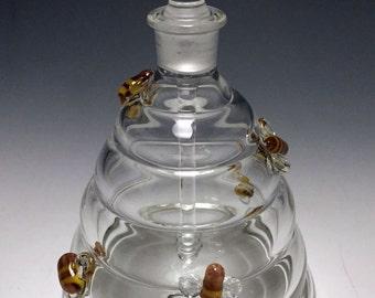 Beehive perfume bottle