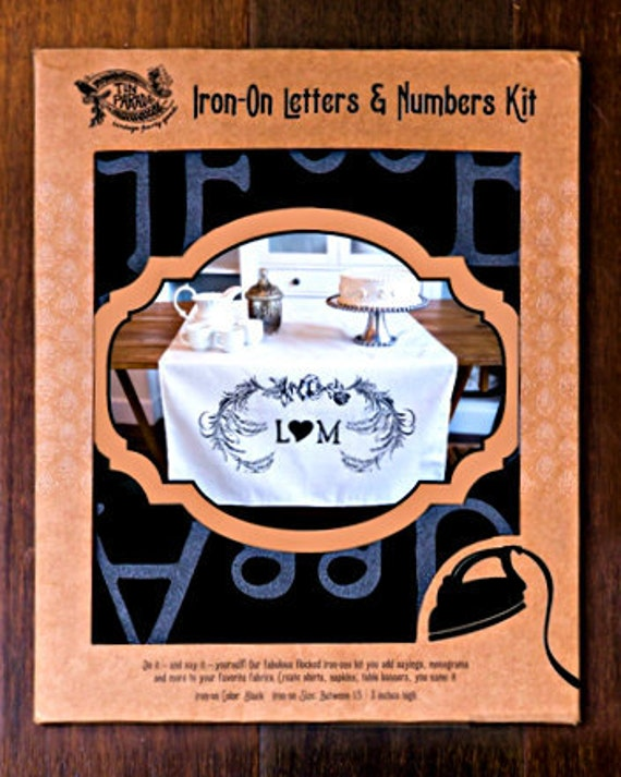 iron on letters and numbers iron on letters numbers kit by tinparade on etsy 22594 | il 570xN.759116167 px2v