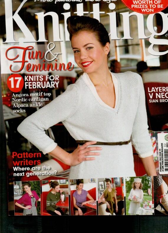 Knitting Magazine Issue 99 February 2012