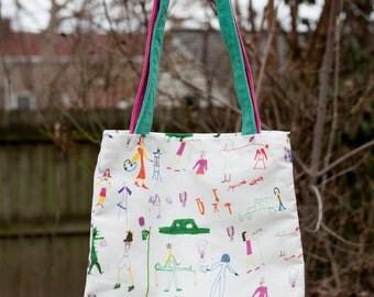 Girl Power Feminist Tote Bag