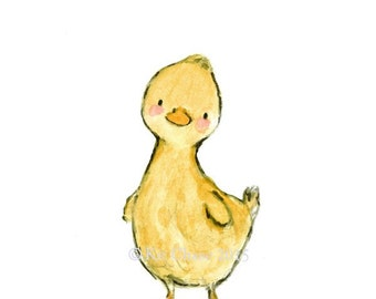"Children's Art -- ""QUACK"" -- Archival Print"