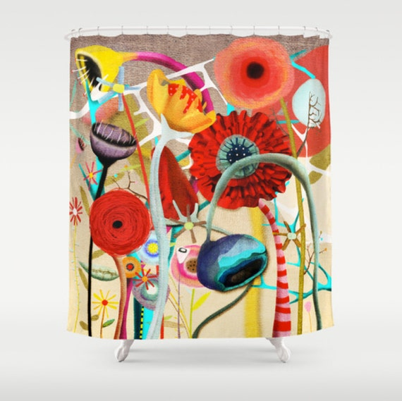 Shower Curtain Restart yourself by rupydetequila on Etsy