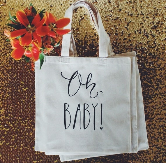 baby shower guest favor or baby shower gift bag by dreamstate