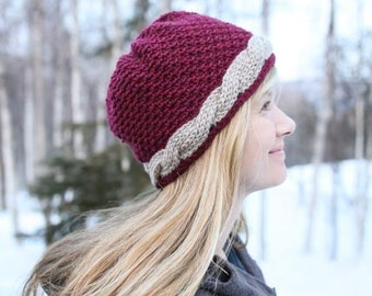 Crochet Hat Pattern - Kathy's Crochet Cable Hat