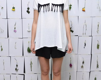 ON SALE! Mascara Miracle Tshirt//White Top S.M.L.