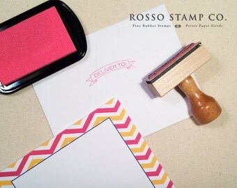 Deliver To Stamp