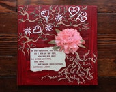 Be My Valentine - painting and poem