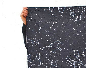 Baby Blanket- Certified Organic Baby Blanket in Galaxy Stars- Eco Friendly Baby- Nursery Decor- Modern Baby