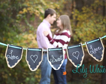 Set of 5 Photo Prop Banners to Personalize and Customize for Every Occasion