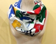 Colorful Dinosaur Infinity Scarf