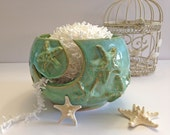 LARGE Starfish Yarn Bowl - In PRODUCTION Knitting Bowl Beach Handmade Pottery