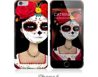 Phone Case - Catrina - iPhone 4 - 4S iPhone 5 - Samsung Galaxy